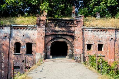 "Fotografie, Obraz  Abandoned Prussian fort ""King Friedrich - Wilhelm I"" in Kaliningrad"