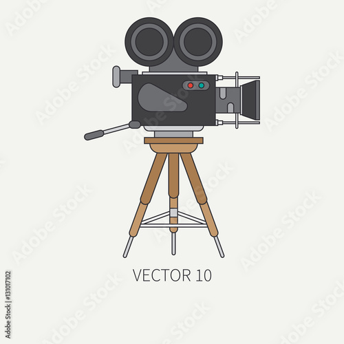 Vector illustration and element for your design and wallpaper. Collection. Screenplay.