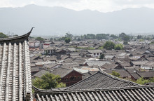 Specificity Of Architecture Of Dayan Old City. Lijiang, China.