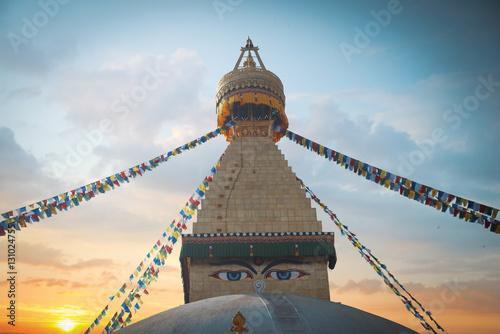 Carta da parati Bodhnath stupa