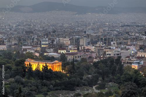 Photo  Temple of Hephaestus