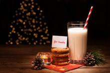 Christmas Cookies Milk Note Fo...