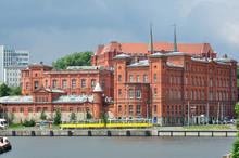 Szczecin - Budynek Dyrekcji Poczty.