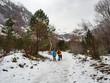 primeras nieves en el Valle de Pineta en Huesca, España, Diciembre de 2016 OLYMPUS CAMERA DIGITAL