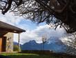 vistas de La Peña Montañesa desde Puértolas, en Huesca, España, Diciembre de 2016 OLYMPUS CAMERA DIGITAL