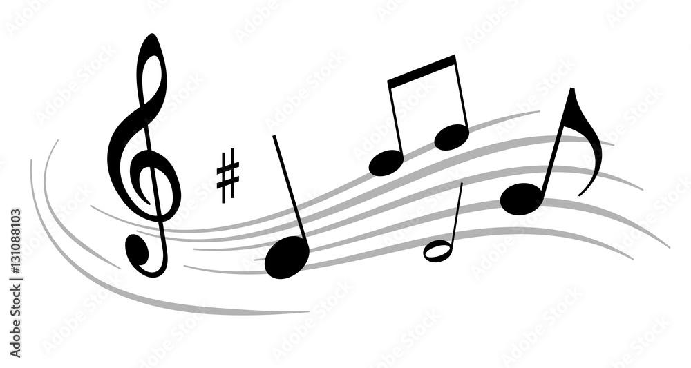 Fototapeta Musik - 96