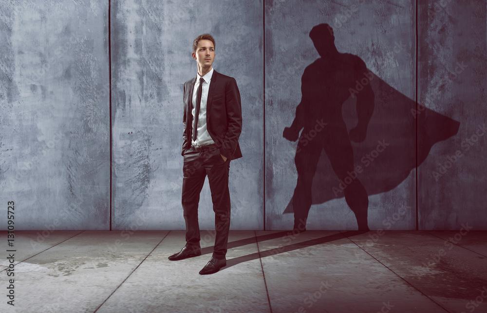 Fototapeta Erfolgreicher Geschäftsmann