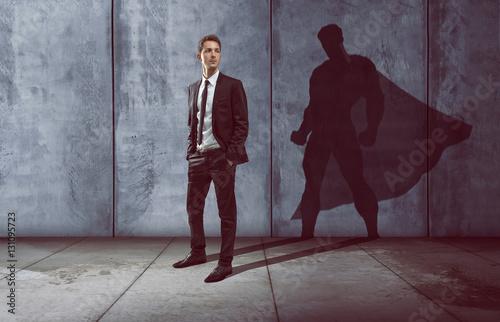 Erfolgreicher Geschäftsmann Fototapet