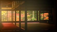 Tenju-an Temple At Autumn, Kyoto