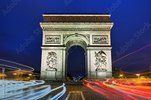 Valokuva  The Triumphal Arch in Paris