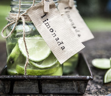 Limeade In Jars