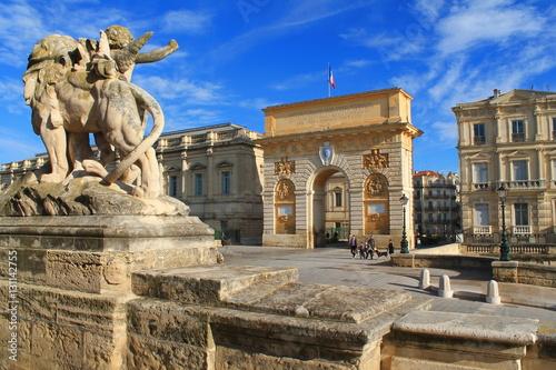 Valokuva  Arc de triomphe de Montpellier, France