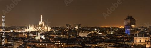 Fotografie, Obraz  Milan skyline