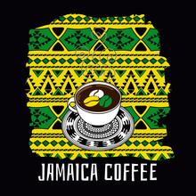 Jamaica Coffee Illustration. T...