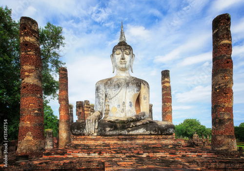 Fotomural Sukhothai Historical Park, Sukhothai Thailand