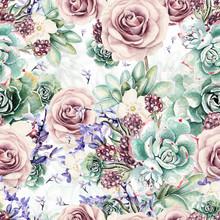 Beautiful Watercolor Pattern W...