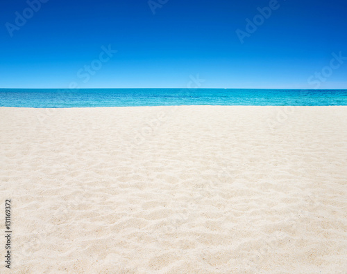 Poster Beach tropical sea
