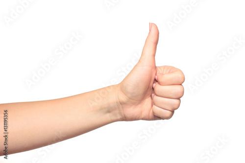 Fotografía  Thumb up gesture