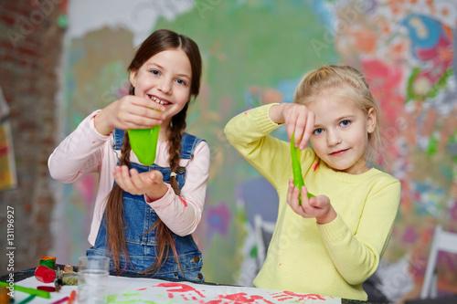 Fotografía Play with slime