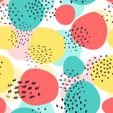 Abstract Vector Seamless Patte...