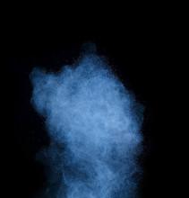 Blue Powder Cosmetics Against ...