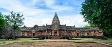 Phanom Rung Castle In Buriram Thailand