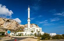 Ibrahim-al-Ibrahim Mosque At Europa Point In Gibraltar