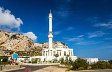 Ibrahim-al-Ibrahim Mosque At Europa Point In Gibraltar