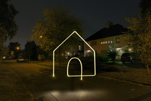 Illuminated House Symbol