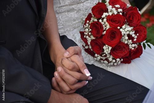 Fotografie, Obraz  rosas bouquet