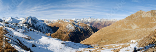 Fototapety, obrazy: Bedretto Valley and the Nufenen pass