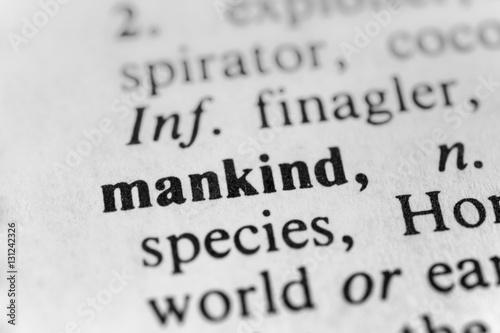 Fotografie, Obraz  Mankind