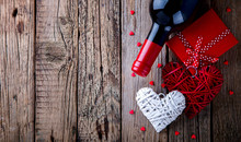 Gift ,  Heart And The Bottle O...