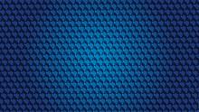 Blue Hex Grate