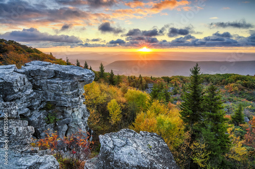 Fotografía  Scenic sunrise, Dolly Sods, West Virginia