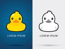 Duck Icon Graphic Vector
