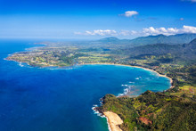 Scenic Hanalei Bay On The Nort...