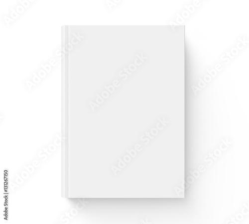 Fotografie, Obraz  Blank hard cover book template