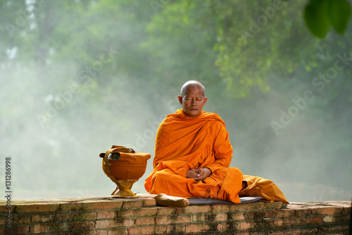 Buddhist monks ,Thailand Canvas