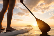 Stand Up Paddle Boarding On Qu...