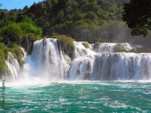 Recess Fitting Waterfalls Waterfall Skradinski buk