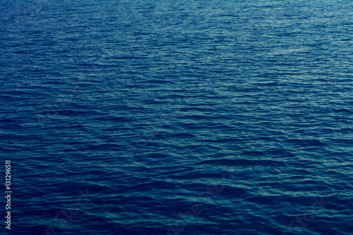 Foto op Aluminium Zee / Oceaan Blue sea water texture calm and peaceful background