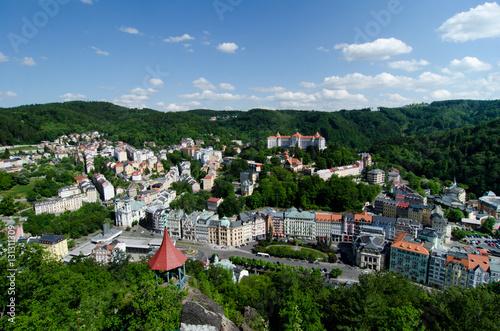 Fotografie, Obraz  view Karlovy Vary, Czech republic
