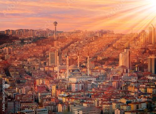 Poster Turquie Ankara, Capital city of Turkey