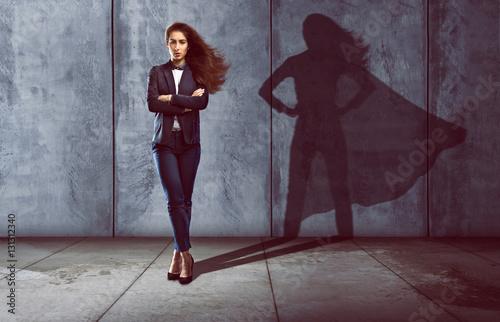 Obraz Erfolgreiche Geschäftsfrau - fototapety do salonu