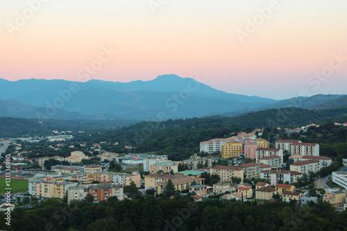 Fotografie, Obraz  Corte, Corse, France.