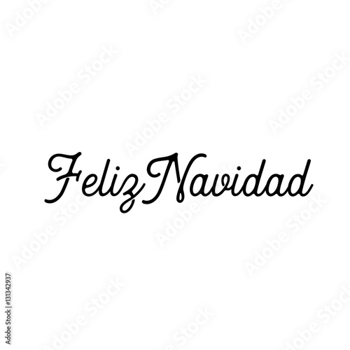 Feliz navidad words vector illustration lettering christmas and new feliz navidad words vector illustration lettering christmas and new year holiday calligraphy phrase isolated on m4hsunfo