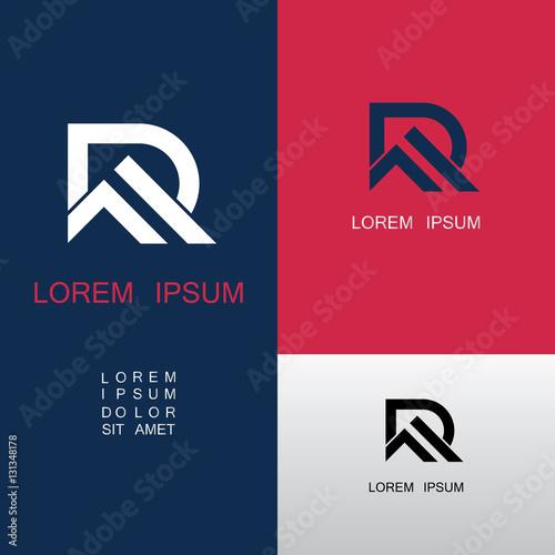Photo  roof letter R logo