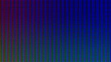 Closeup LED Diode Of LED TV, L...