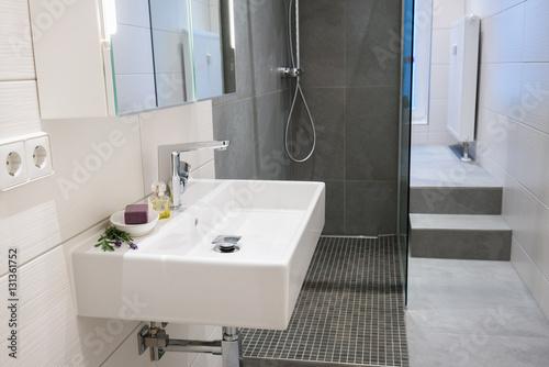 Modernes Bad In Einer Wohnung